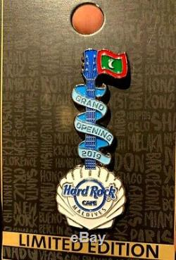 Hard Rock Cafe MALDIVES 2019 Grand Opening Pin
