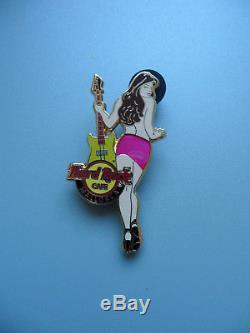 Hard Rock Cafe MALLORCA 2009 Rock all Night Limited Ed. Sexy Girl Serie Pin