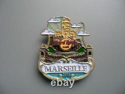 Hard Rock Cafe MARSEILLE City Icon Worldwide HRC Series Pin