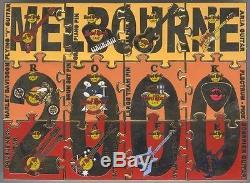 Hard Rock Cafe MELBOURNE 2000 MILLENNIUM 12 Piece Puzzle Set HRC Catalog #5523