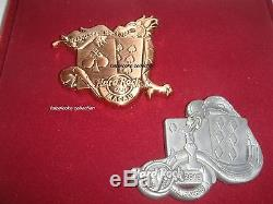 Hard Rock Cafe Macau Grand Opening 2 Pins Set with box LE777