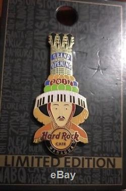 Hard Rock Cafe Managua Grand Opening pin limited Edition (Nicaragua)