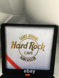 Hard Rock Cafe Manchester Grand Opening Limited Edition Pin 2000
