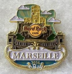 Hard Rock Cafe Marseille Limited Edition Original Icon City Series Pin # 90286