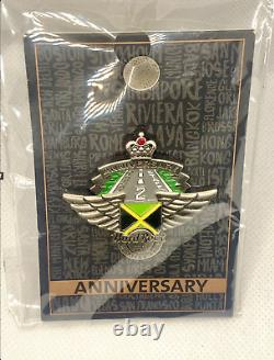 Hard Rock Cafe Montego Bay 2nd Anniversary Pin Staff Pin Limited Edition