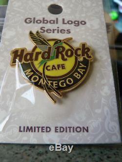 Hard Rock Cafe Montego Bay Global Logo Series 2018 Pin