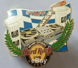Hard Rock Cafe Mykonos Grand Opening Staff Pin Le 75 Mint Condition