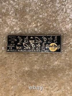 Hard Rock Cafe Myrtle Beach Grand Opening Staff Pin Limited Edition RARE