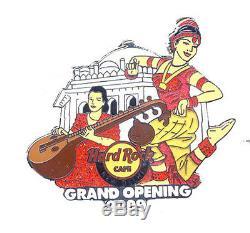 Hard Rock Cafe NEW DELHI Grand Opening 2009 Girl pin LE 100