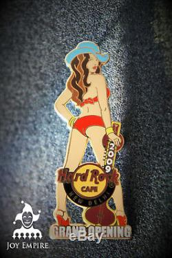 Hard Rock Cafe New Delhi India Girl with Sitar Grand Opening Pin 2009 LE50