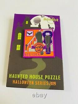 Hard Rock Cafe New York set of 3 Halloween Limited edition pins 2018-2019