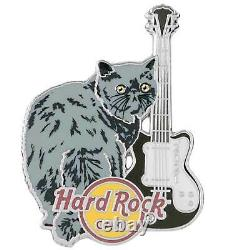 Hard Rock Cafe ONLINE 2021 CAT & GUITAR Series 8 PIN Set LE 200 All New on Cards