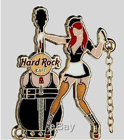 Hard Rock Cafe Online 2013 Sexy CHAIN GIRL Series 3 PINS Set. Great Collection