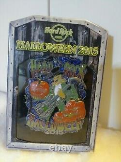 Hard Rock Cafe Online Halloween Jumbo Pin 2015