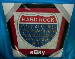 Hard Rock Cafe Online Interstate Sexy Girl Series Frame Pin Set 2015 Rare Le 15