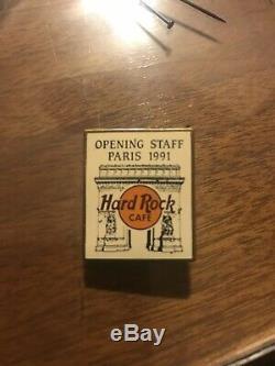 Hard Rock Cafe PARIS Opening STAFF