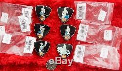 Hard Rock Cafe PINS Set FLORENCE Statue Guitar Pick Series 6 5 4 3 3 2 1 lot