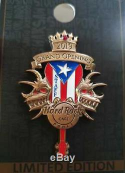 Hard Rock Cafe PONCE PR 2019 Grand Opening STAFF PIN GOS LE 150 HRC #534051