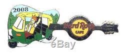 Hard Rock Cafe PUNE India Grand Opening STAFF Guitar Pin
