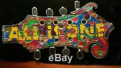 Hard Rock Cafe Pin 2003 ALL IS ONE PUZZLE 12 Pieces Guitar Online Only VERY RARE