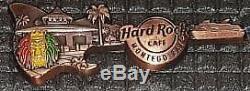 Hard Rock Cafe Pin 3D guitar skyline Montego Bay