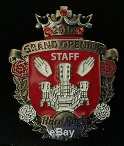 Hard Rock Cafe Pin Antwerp 2016 Grand Opening GO Staff ERROR