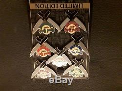 Hard Rock Cafe Pin Badge UNIQUE ON EBAY! All 7 of the Staff Station Pins