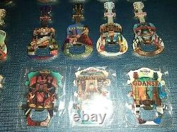 Hard Rock Cafe Pin Bottle Opener magnet collection (READ BEFORE PLEASE)