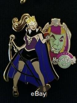 Hard Rock Cafe Pin - Disney Rockin Fairy Tale Villains Series - 2015 - LE100