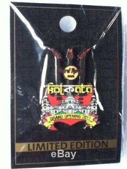 Hard Rock Cafe Pin Kolkata Grand Opening 2017