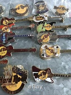 Hard Rock Cafe Pin Lot Mix (31) Pcs