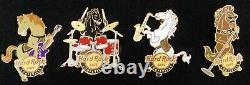Hard Rock Cafe Pin Louisville 2006 Horse Band Set of 4