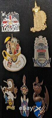 Hard Rock Cafe Pin, Magnet & Button Lot x 10 Various Locations