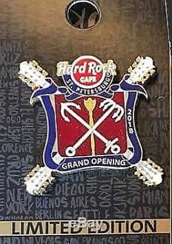 Hard Rock Cafe Pin St. Petersburg Grand Opening