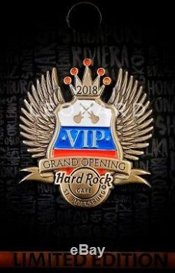 Hard Rock Cafe Pin St. Petersburg Grand Opening VIP