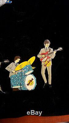 Hard Rock Cafe Pin THE BEATLES Set of 4 Fantasy Pins JOHN PAUL RINGO GEORGE