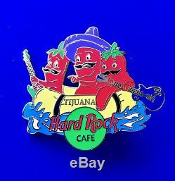 Hard Rock Cafe Pin Tijuana Mexico Chilli Pepper pin set 3 pins rare