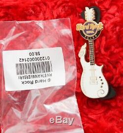 Hard Rock Cafe Pin Tulsa PRINCE CLOUD GUITAR 5th Anniversary hat lapel logo