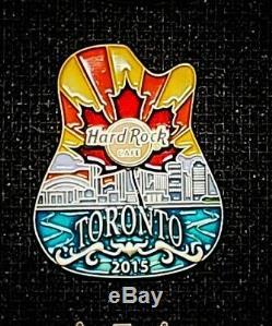 Hard Rock Cafe Pin icon Toronto 2015