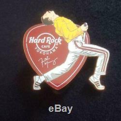 Hard Rock Cafe Pin pinz Queen Freddie Mercury Yokohama limited Used rare