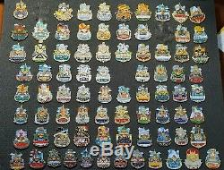 Hard Rock Cafe Pin's icon (115 pieces)