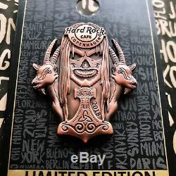 Hard Rock Cafe Pins Copenhagen 3D Nordic Gods Skull Series Thor Odin Loki 2018