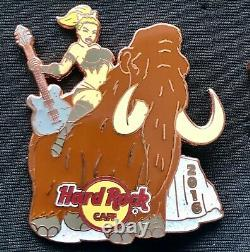 Hard Rock Cafe Pins Online Set Prehistoric Sexy Girl Series 2016 T-Rex Mammoth