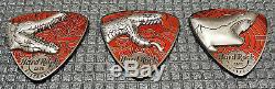Hard Rock Cafe Pins Sydney Australia 3D guitar pick (set 3 pins)