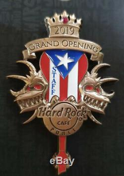 Hard Rock Cafe Ponce Grand Opening Staff LE 150