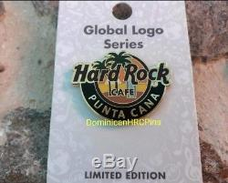 Hard Rock Cafe Punta Cana Airport Global Logo Pin LE 2018 caribbean