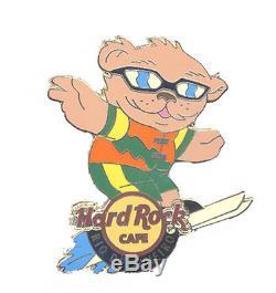 Hard Rock Cafe RIO DE JANEIRO Sporting Bear Series pin RARE