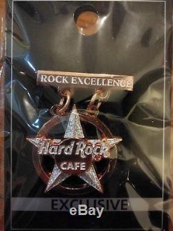 Hard Rock Cafe ROCK EXCELLENCE STAFF SVHTF RARE