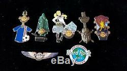 Hard Rock Cafe Reykjavik Lot of 7 Pins
