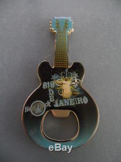 Hard Rock Cafe Rio de Janeiro Christ Redeemer Guitar Magnet Bottle Opener